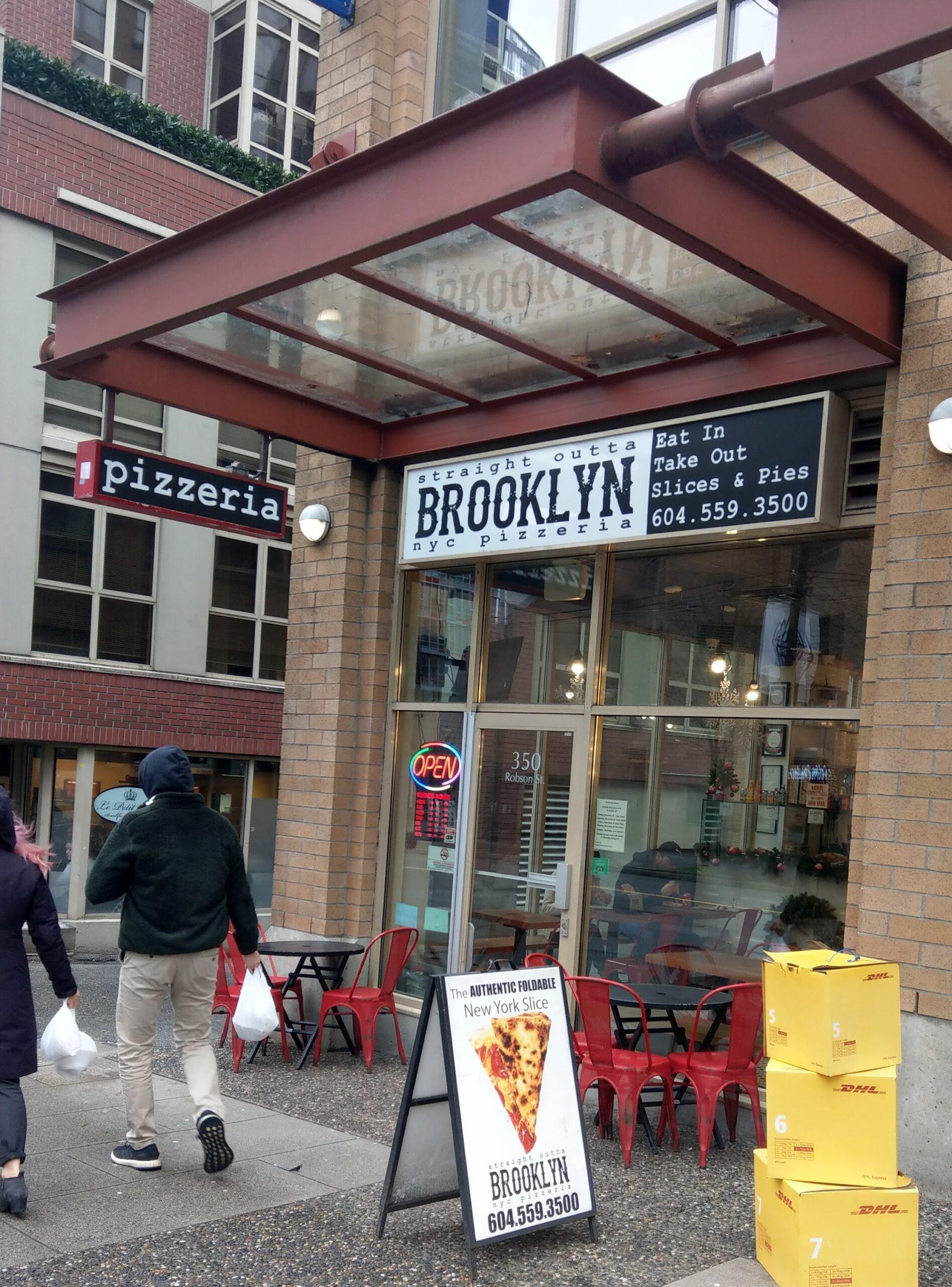 Straight Outta Brooklyn NYC Pizzeria外観