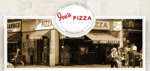 Joe`s Pizza NYC