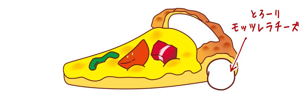 たっぷりチーズクラスト