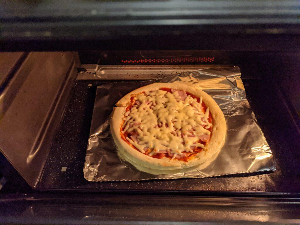 ナポリ風ピザクラストで作ったピザ②