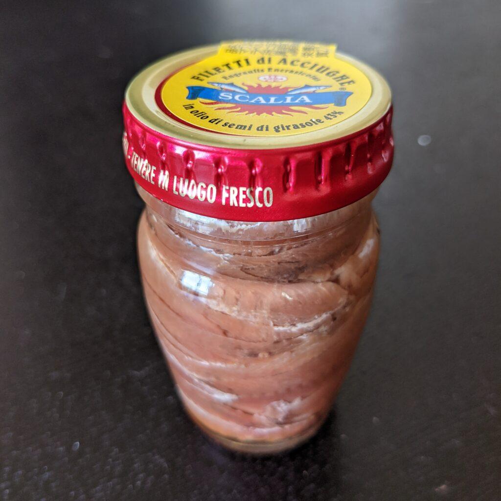 瓶詰のアンチョビ