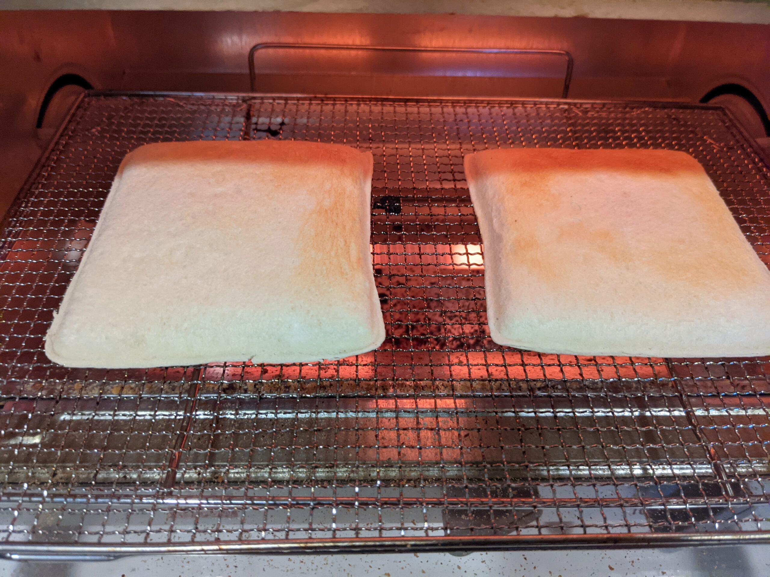 プルコギ&チーズを電子レンジで温め2分