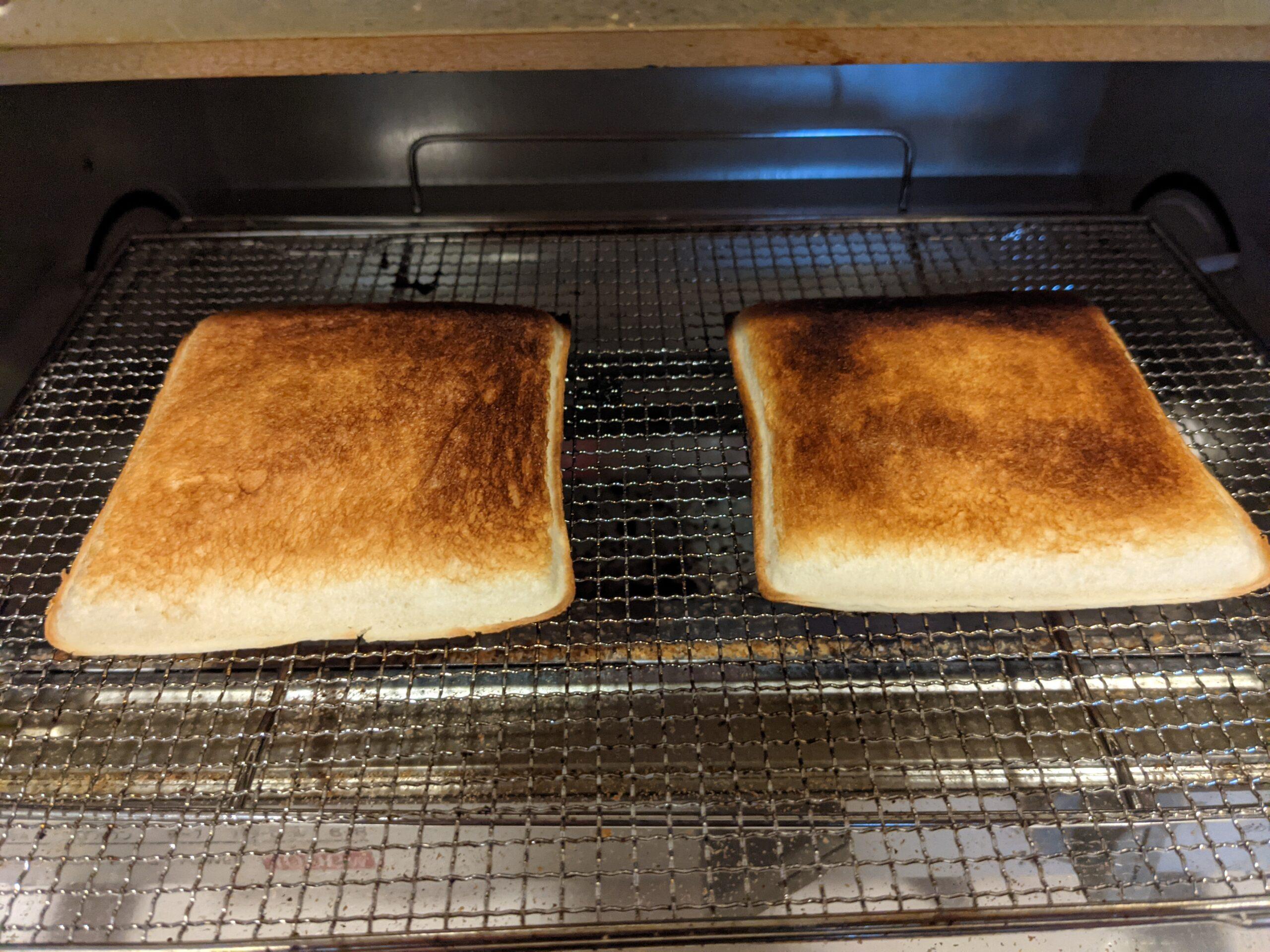 プルコギ&チーズズをオーブントースターで温め3分