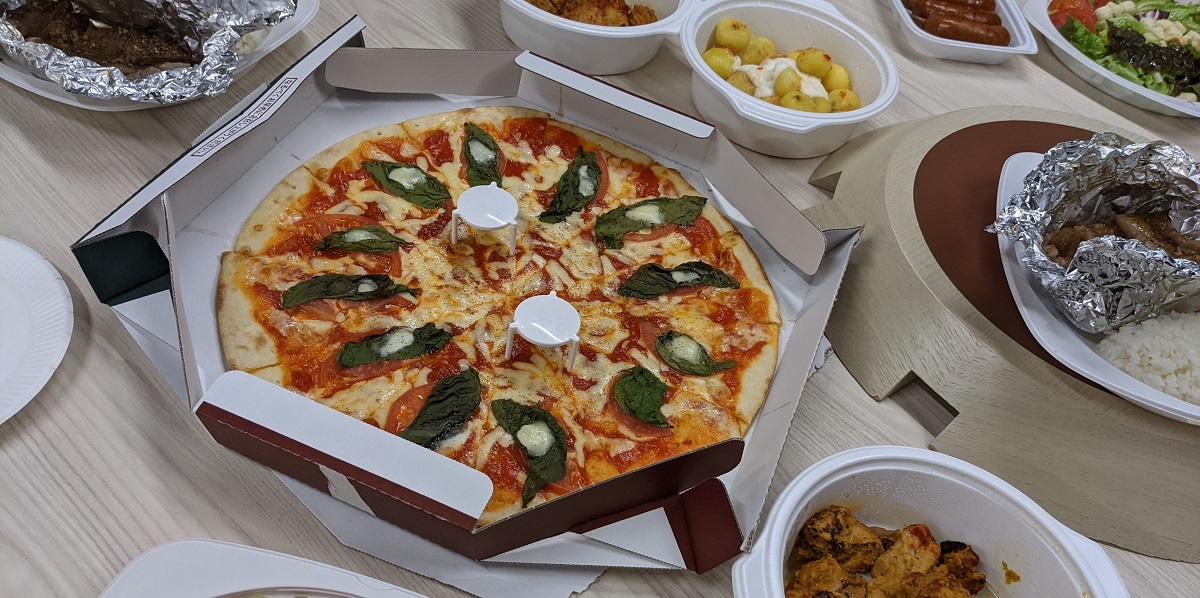 ラジャヴェッタのピザ