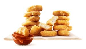 マクドナルドのチキンナゲット