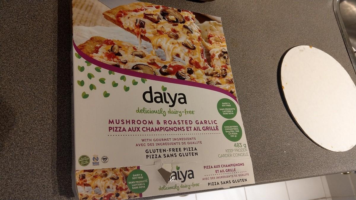 海外のグルテンフリーの冷凍ピザ