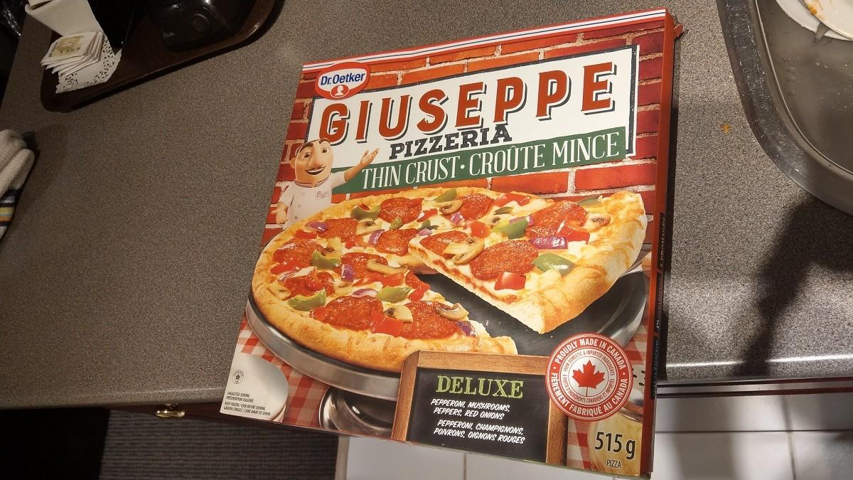 海外のアメリカンタイプの冷凍ピザ