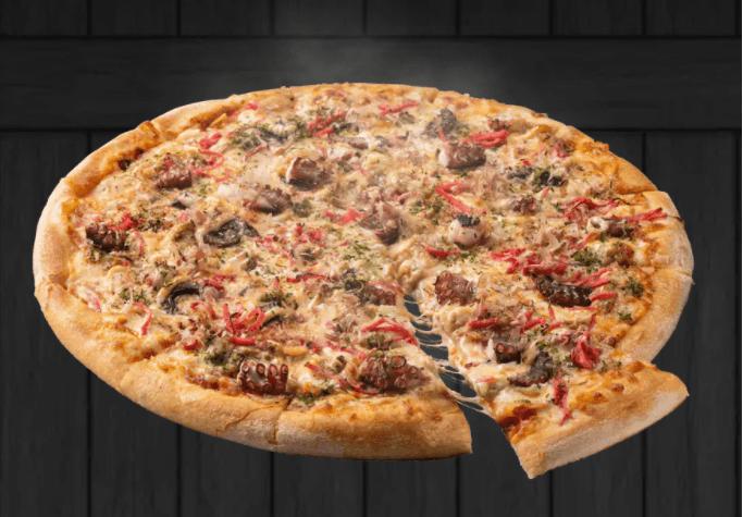 ドミノのたこ焼きピザ