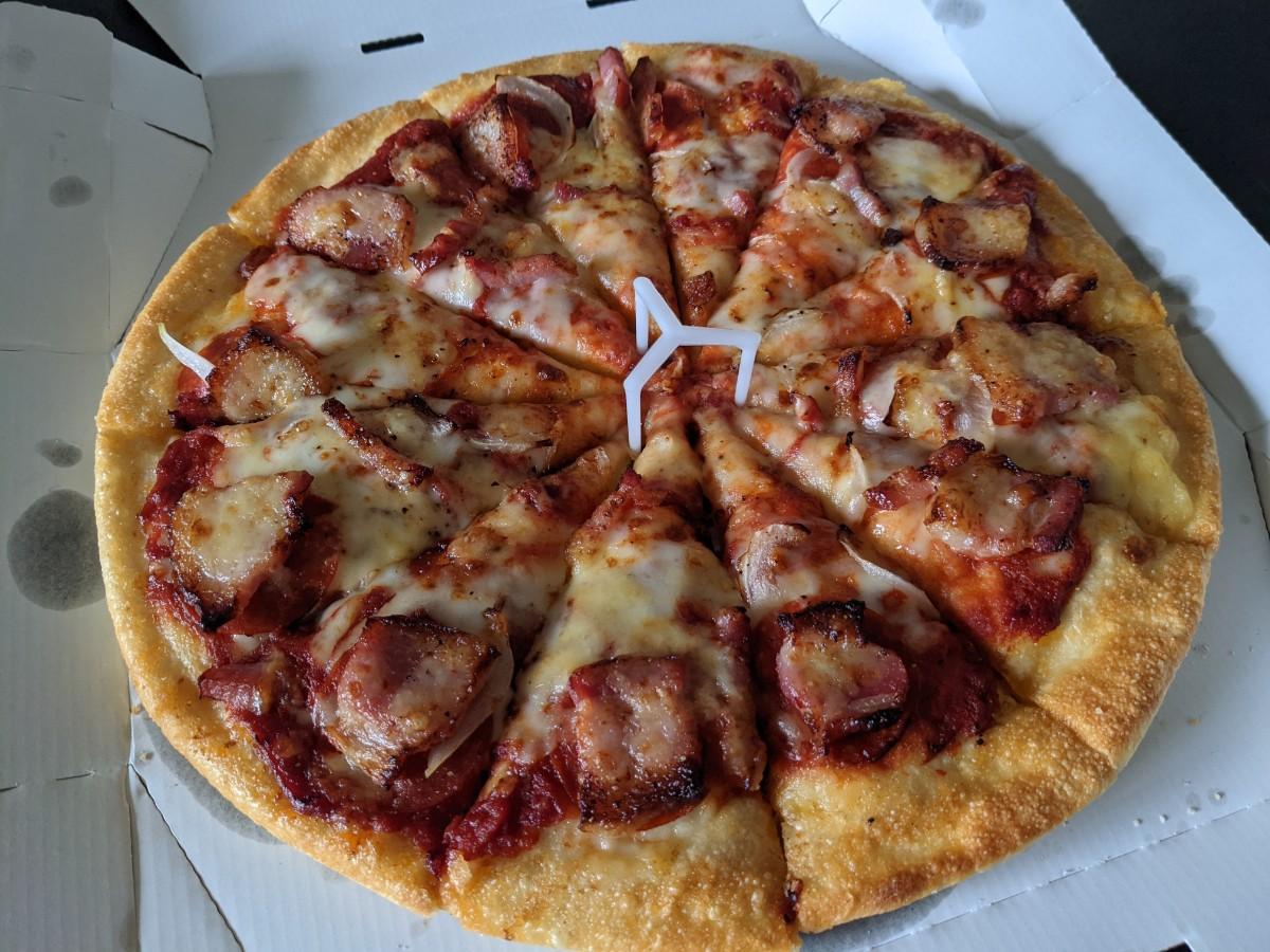 ピザハットのジューシー厚切イベリコ